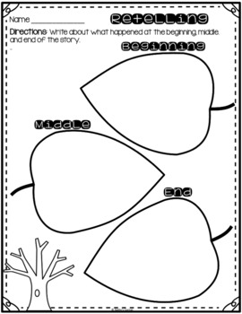 """Frog and Toad All Year - Activities for """"The Surprise"""""""