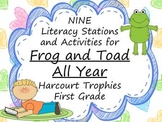 Frog and Toad All Year Literacy Stations for Harcourt Trop