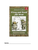 Frog and Toad All Year Packet