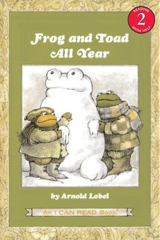 """Frog and Toad All Year """"The Surprise"""" Questions"""