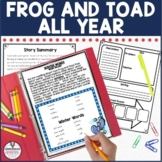 Frog and Toad All Year Activities