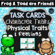 Frog and Toad Are Friends - Character Traits Activities Bundle
