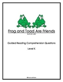 Frog and Toad Are Friends - Reading Companion