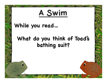 Frog and Toad Are Friends - Comprehension, Vocabulary, Writing, and No Prep!
