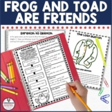 Frog and Toad Are Friends Book Study | Distance Learning