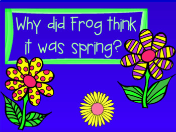 Frog and Toad Are Friends - Literary Unit for PROMETHEAN Board