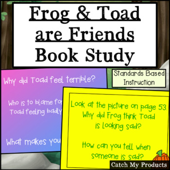 Frog and Toad Are Friends - Literary Unit on Power Point