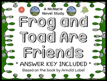Frog and Toad Are Friends (Arnold Lobel) Reading Response Journal