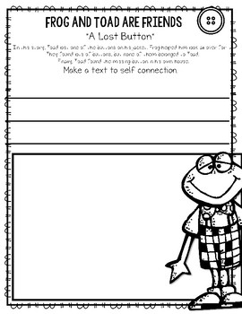 Dashing image with regard to frog and toad are friends printable activities