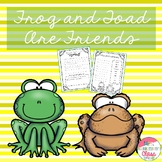 Frog and Toad Are Friends book unit