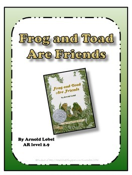 Frog and Toad Are Friends - poke cards