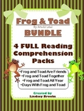 Frog and Toad BUNDLE: Four Full Reading Comprehension Packs