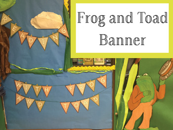 Frog and Toad Banner