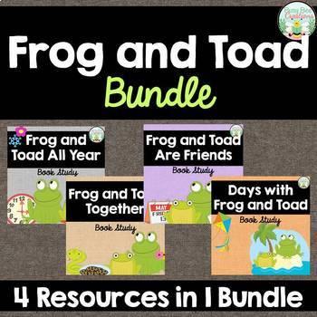 Frog and Toad Bundle - Arnold Lobel