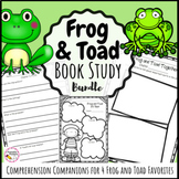 Frog and Toad Book Study Bundle