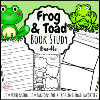 Frog and Toad {Book Study Bundle}