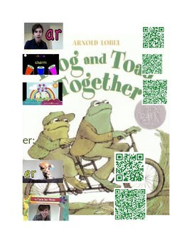 Frog and Toad Concepts with Q.R. codes