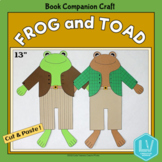 Frog and Toad Craft - Book Companion Craft