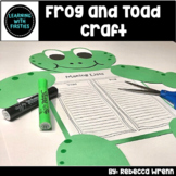 Frog and Toad Craft and Graphic Organizer