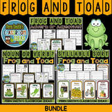 Frog and Toad Task Cards Center Games Printables and Inter