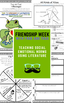 Frog and Toad Friendship Week