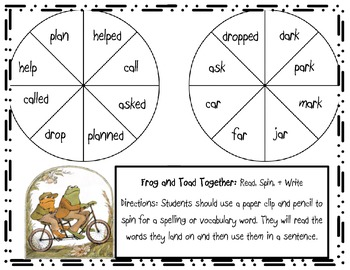 Frog and Toad Games