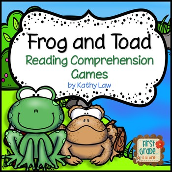 Frog and Toad - Reading Comprehension Games