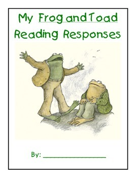 Frog and Toad Journal Prompts