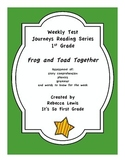 Frog and Toad: The Garden Journeys Assessment
