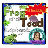Frog and Toad Lapbook - 18 Booklets and a Full Reading to Learn About Frogs!