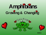 Frog and Toad Life Cycle PowerPoint Presentation (Amphibians)
