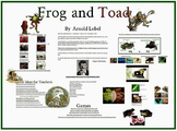 Frog and Toad Prezi for Primary Grades- Smartboard Activities