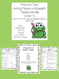 Frog and Toad Reader's Theater and Comprehension Activities Bundle