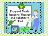 Readers Theater and Substitute Plans- Frog and Toad