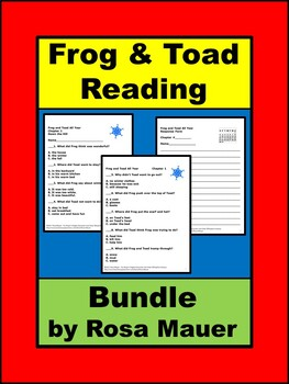 Frog and Toad Reading Bundle
