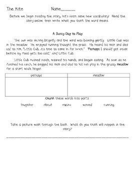 Frog and Toad - The Kite - A Comprehension Mini Unit