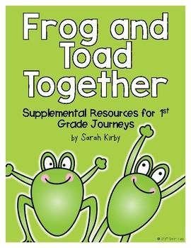 Frog and Toad Together - 1st Grade Journeys Supplemental Resources