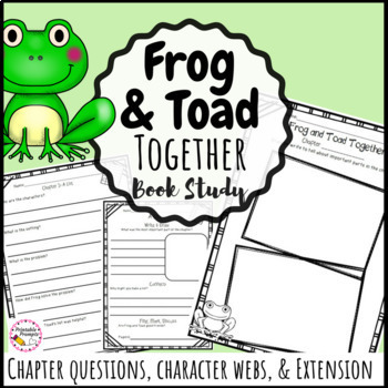 Frog and Toad Together  {Book Study}