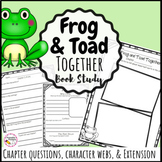 Frog and Toad Together Book Study - Printable and Digital