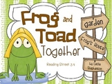 Frog and Toad Together - A Reading Street Supplement