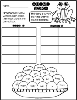 "Frog and Toad Together - Activities for ""Cookies"""