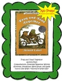 Frog and Toad Together Activity Pack