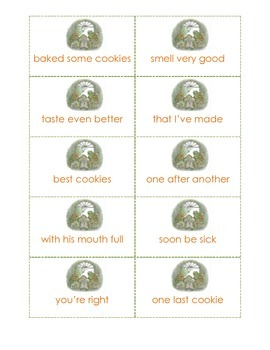 Frog and Toad Together Fluency Phrase Cards