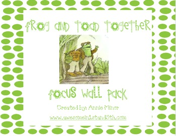 Frog and Toad Together Focus Wall Pack