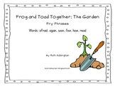 Frog and Toad Together Fry Phrases