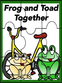 Frog and Toad Together Guided Reading Novel Study Worksheets No Prep Activities