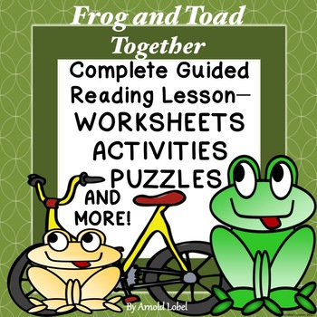 Frog and Toad Together Guided Reading Novel Study Workshee