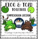Frog and Toad Together Question Set