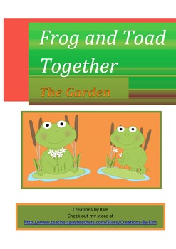 Frog and Toad Together Readers Theater Common Core