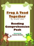 Frog and Toad Together: Reading Comprehension Pack